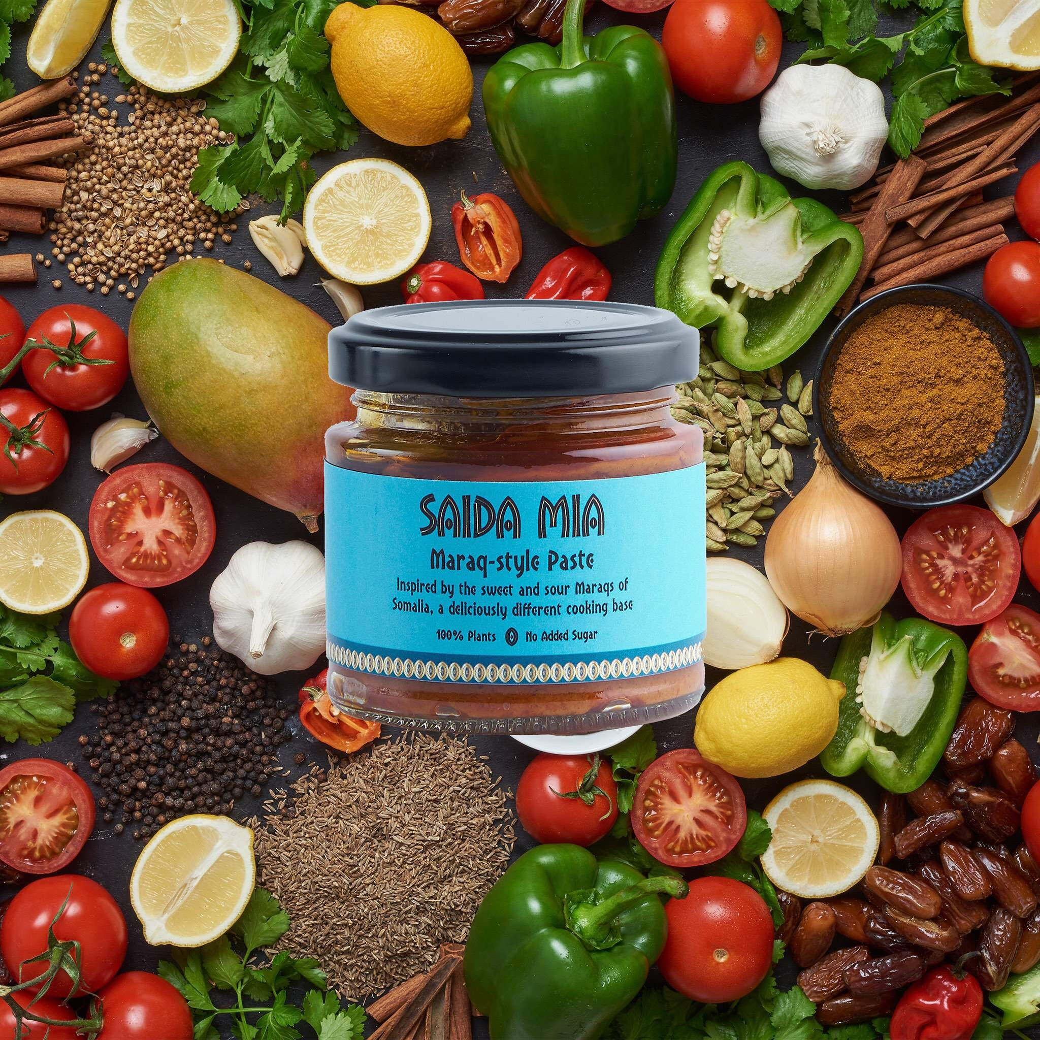 Saida Mia African Products Maraq Paste Pack Ingredients Image