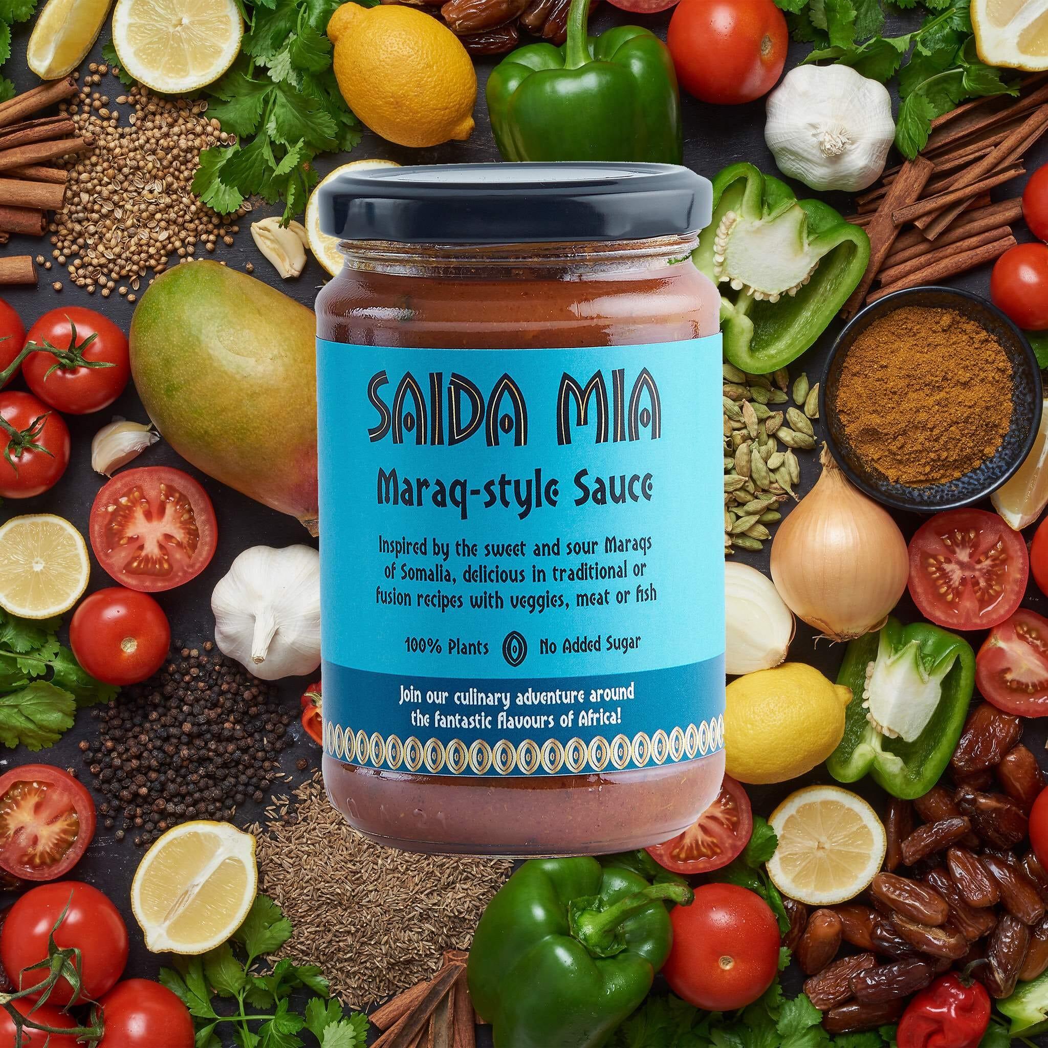 Saida Mia African Products Maraq Sauce Pack Ingredients Image