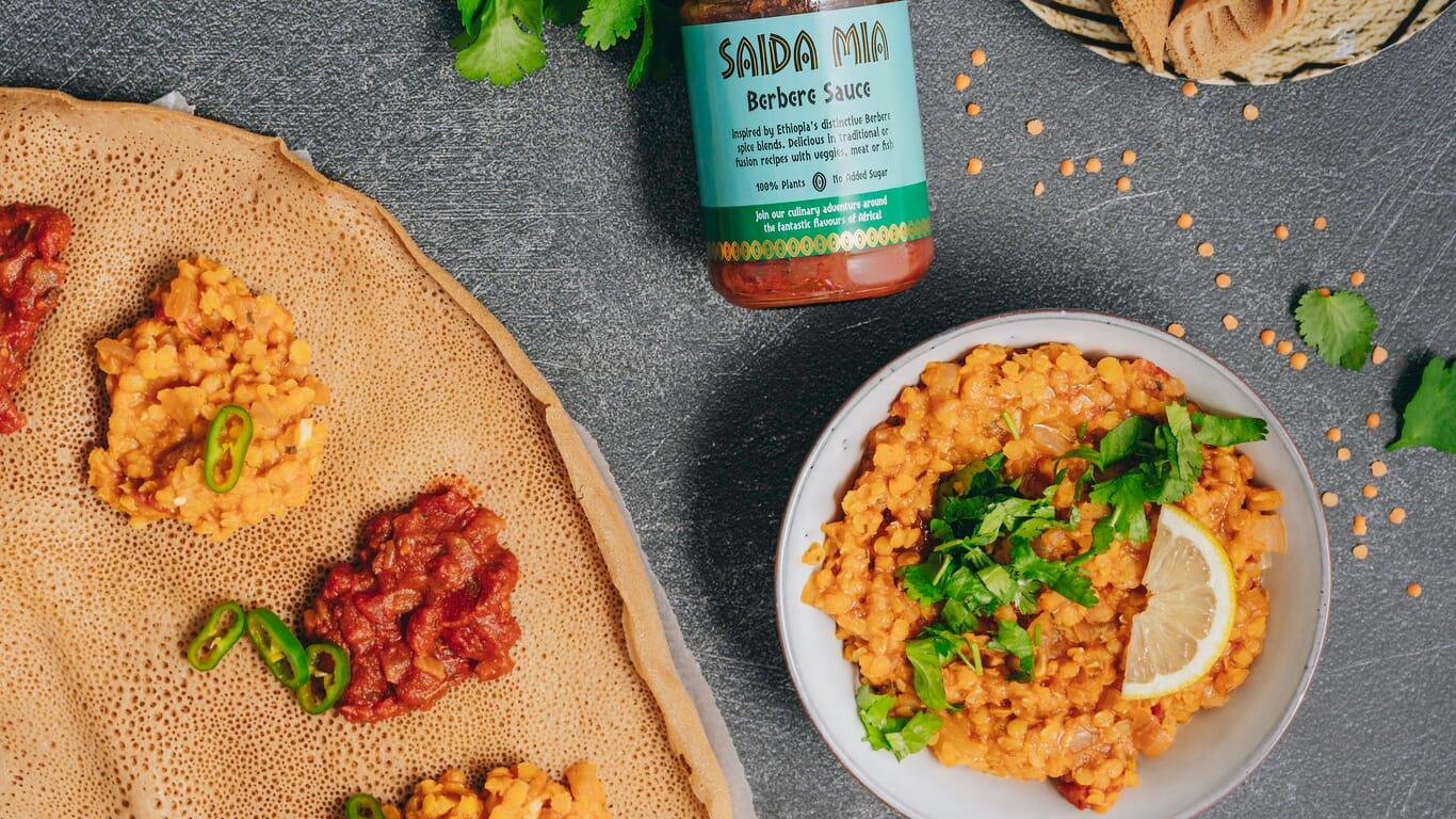 Saida Mia African Food Recipes Ethiopian Berbere Lentil Image 1