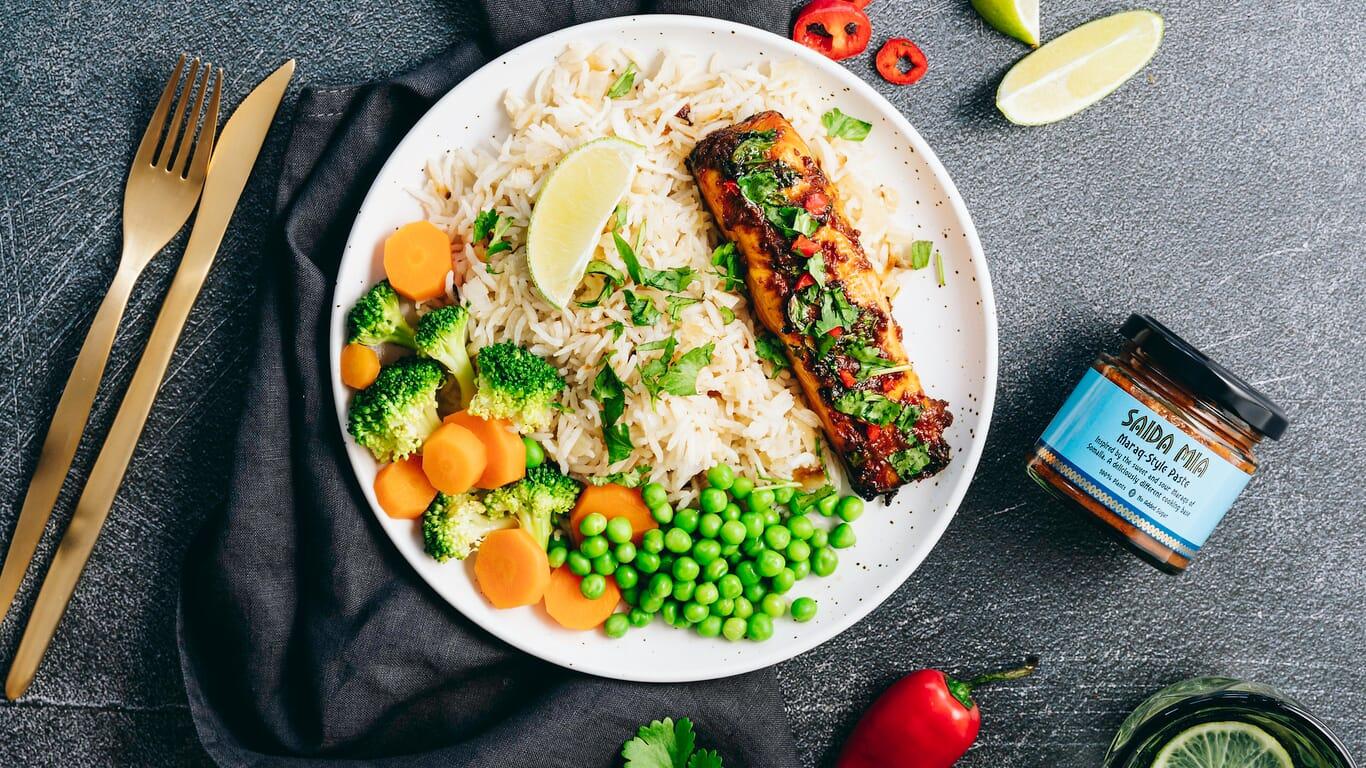 Saida Mia African Food Recipes Somali Maraq Salmon Image